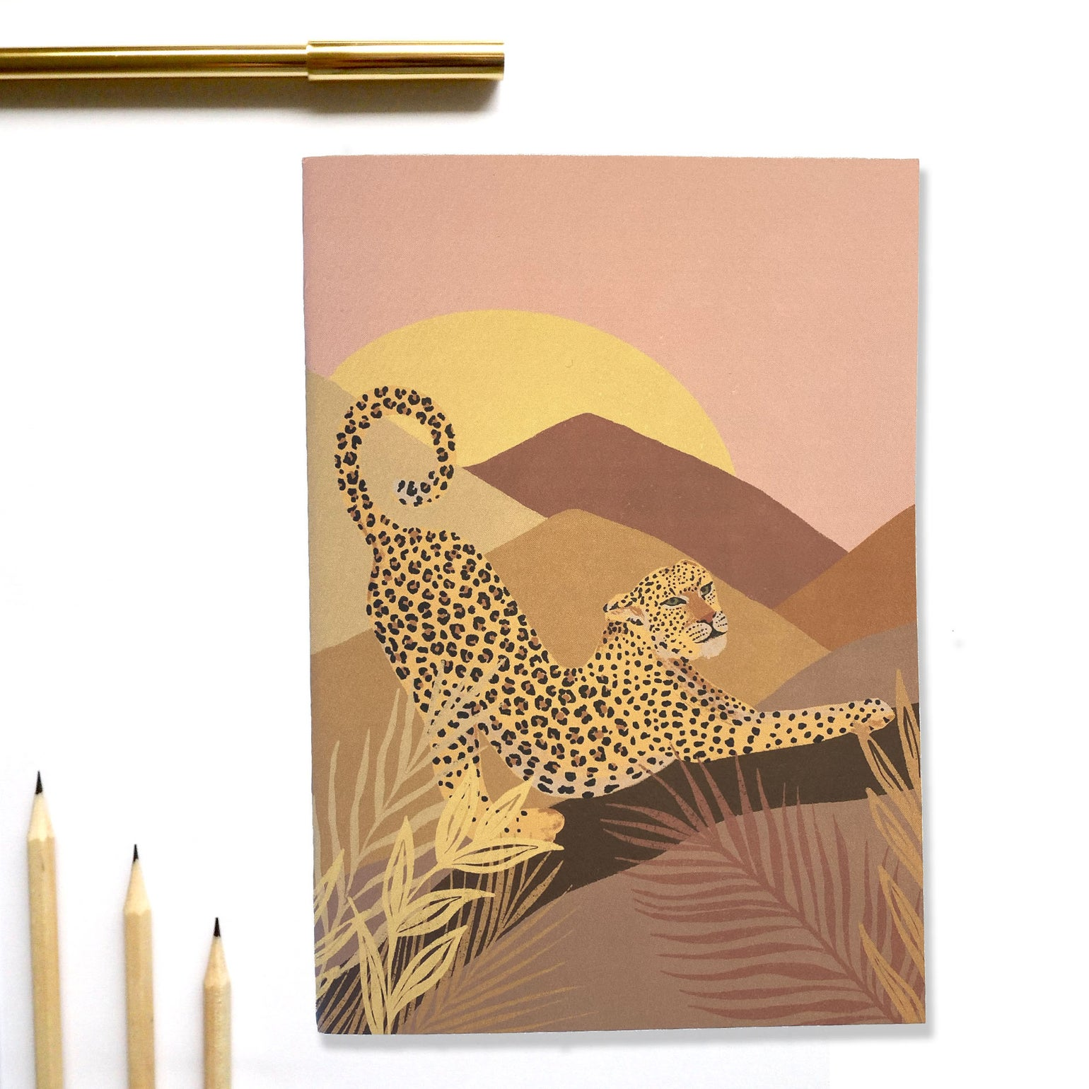 Image of A5 Morning Leopard Notebook