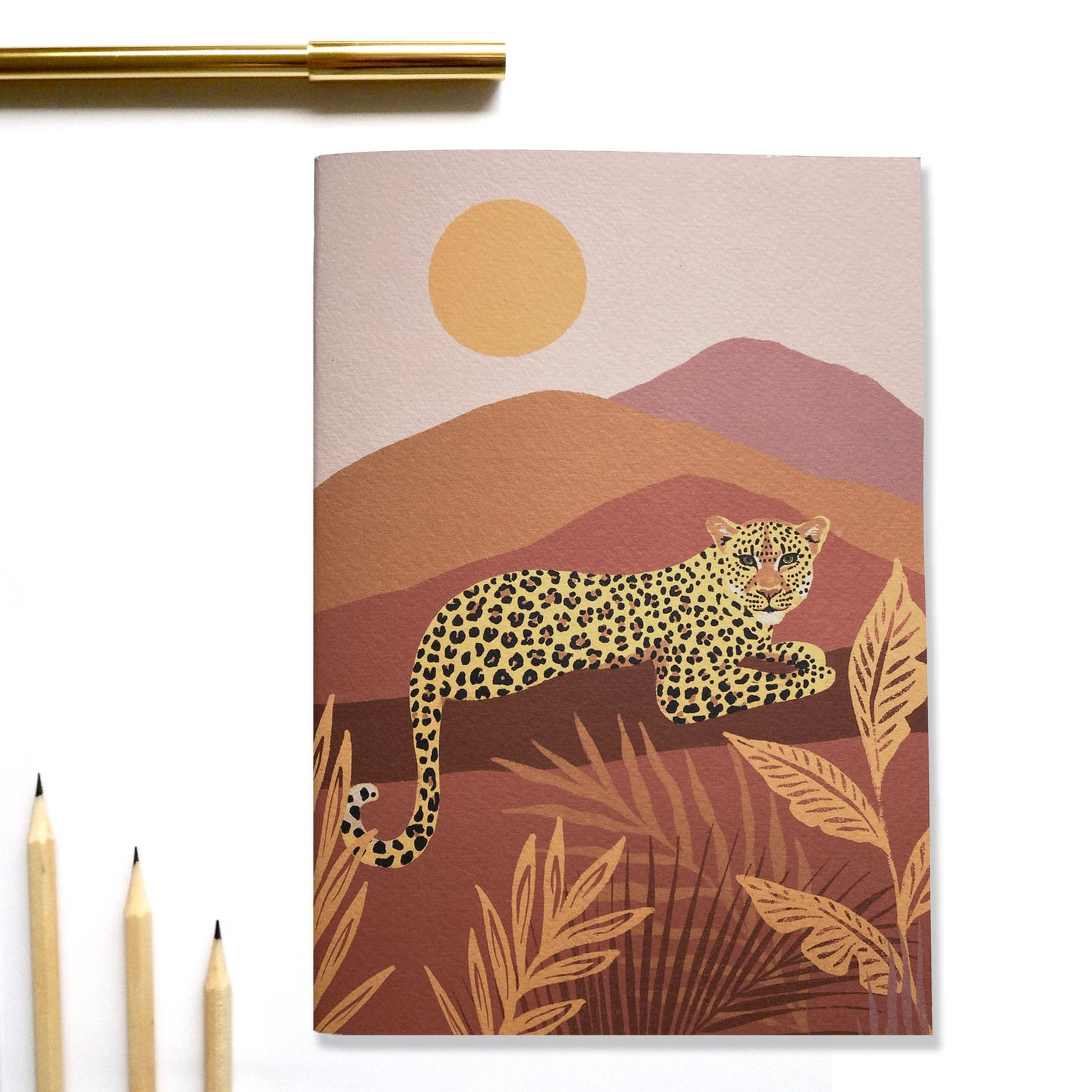 Image of A5 Day Leopard Notebook