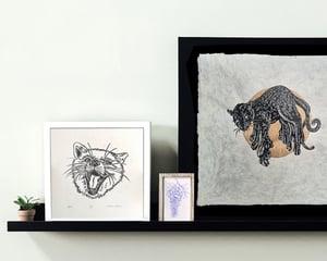 Fox Linoprint