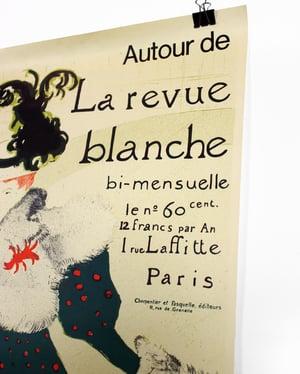 Original Autour de La Revue Blanche Galerie Maeght (Toulouse Lautrec) Lithograph Poster ca. 1966