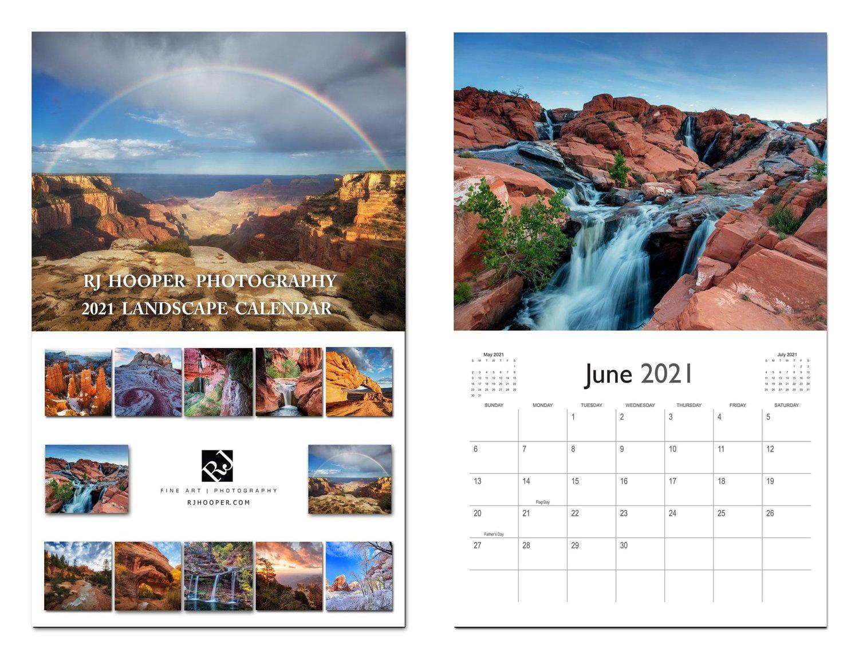 Image of 2021 Landscape Calendar