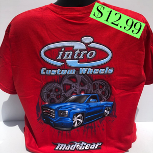 "Image of ""Twin Turbo"" Red T-Shirt"