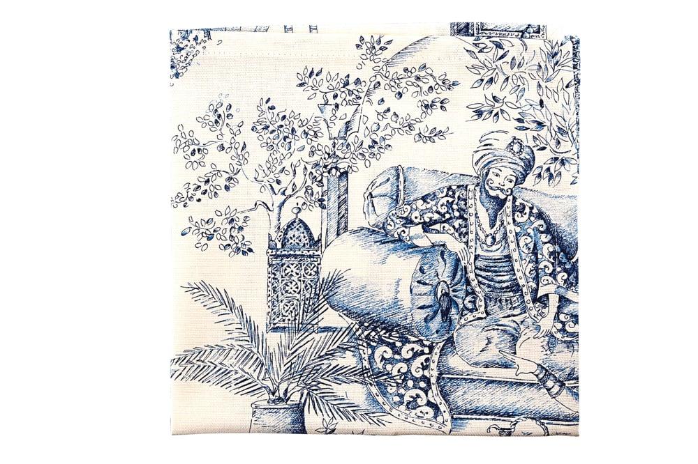 Image of Tovaglioli Mille e Una Notte-set da 2/ Mille e Una Notte napkins-set of 2