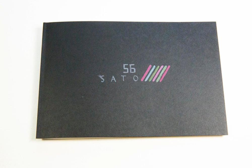 Image of Sato  56, Sketchbook zine