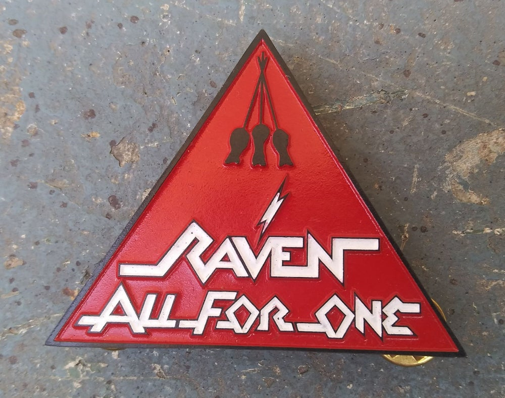 Raven All For One Lapel Pin *IMPORT*