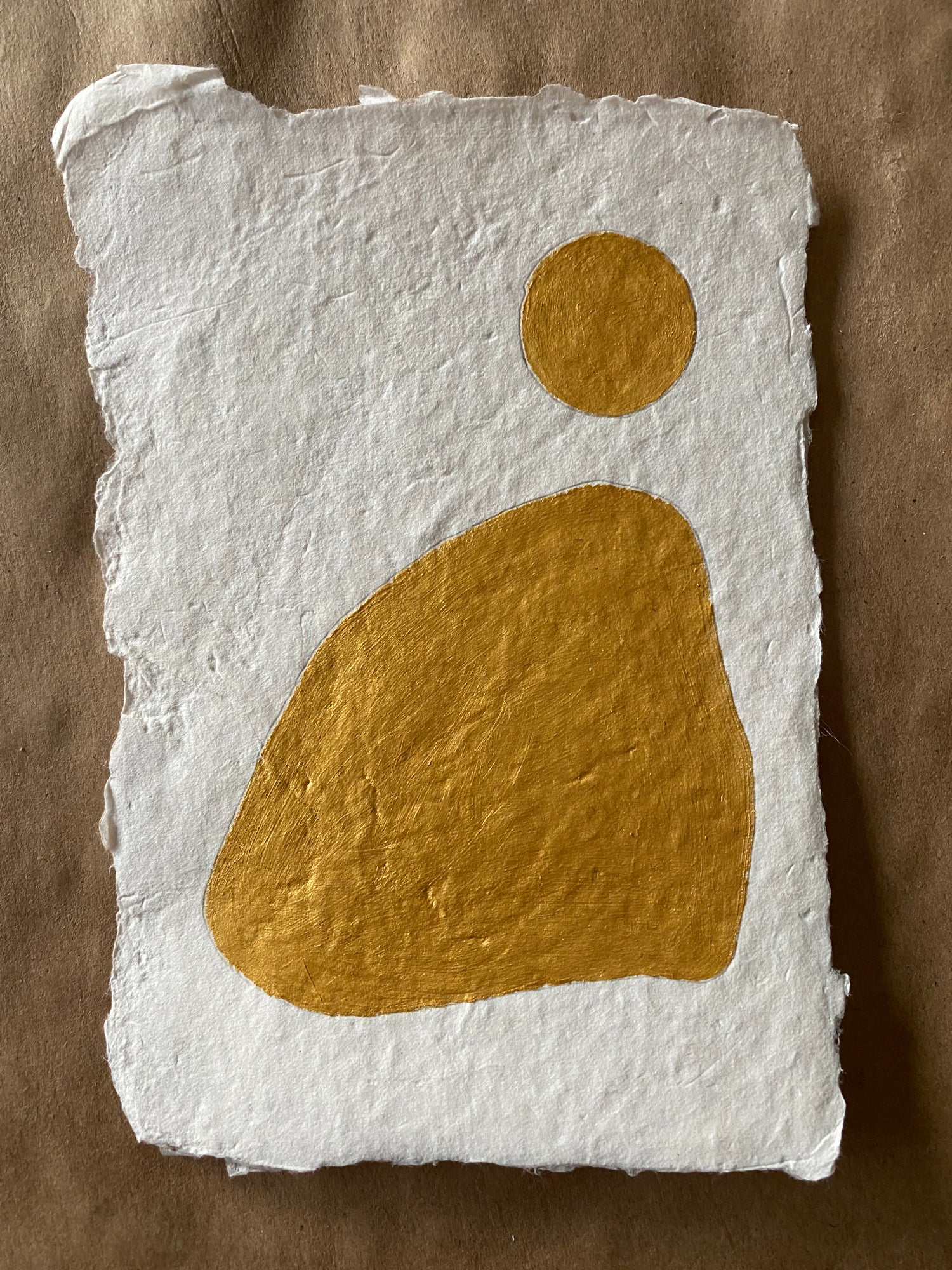 Image of ML• The Shape Collection • Handmade Paper No. 1