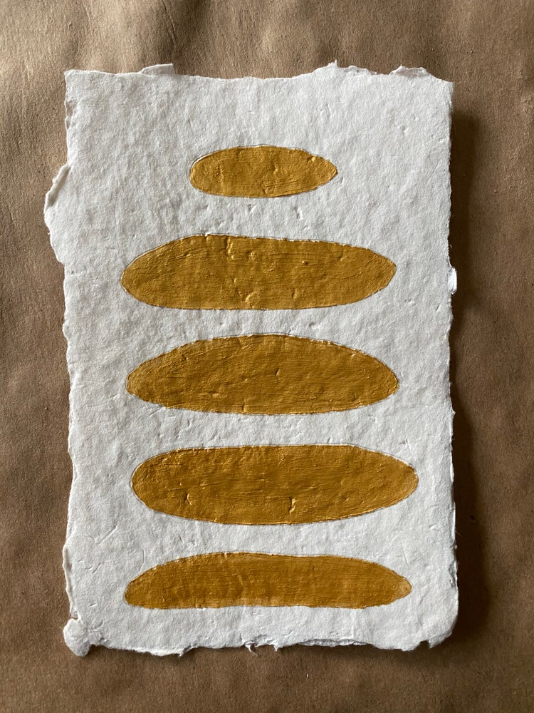 Image of ML• The Shape Collection  Handmade Paper No. 3