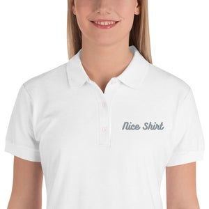 Image of Embroidered Women's Polo Shirt