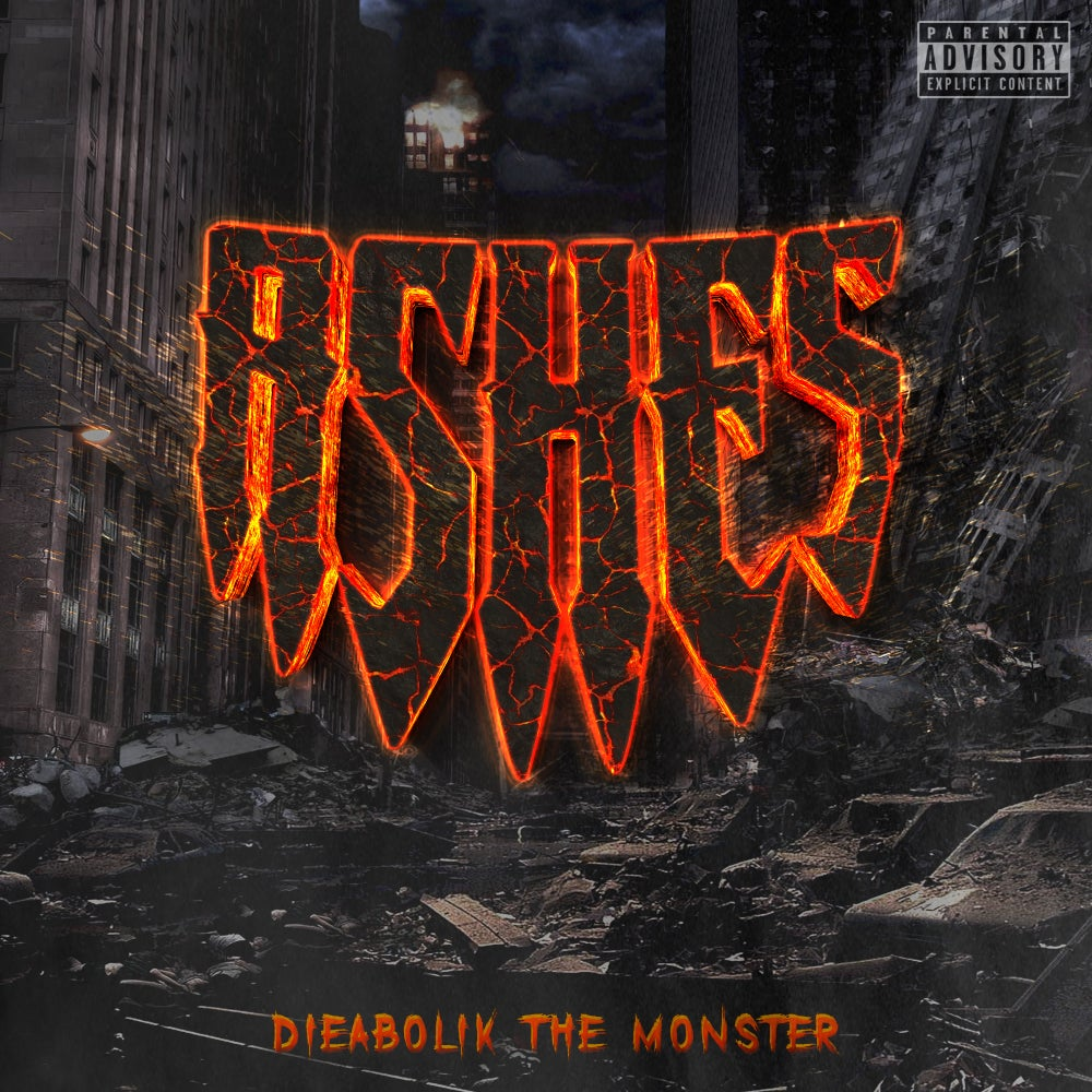 Dieabolik The Monster - ASHES (CD PREORDER)