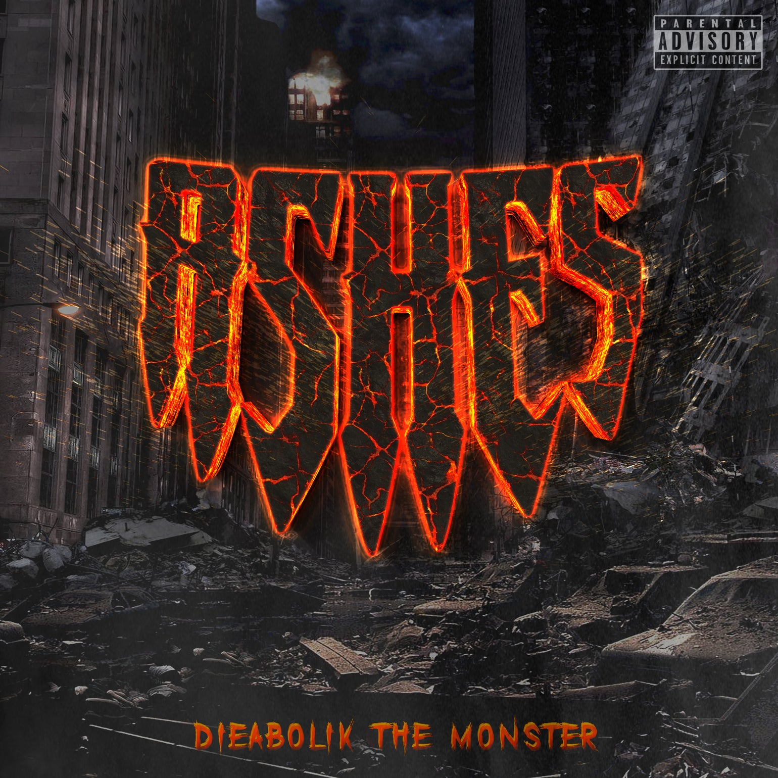 Image of Dieabolik The Monster - ASHES