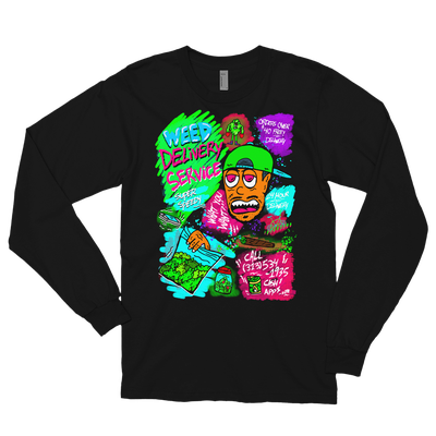 Image of Weed Delivery Unisex Long Sleeve
