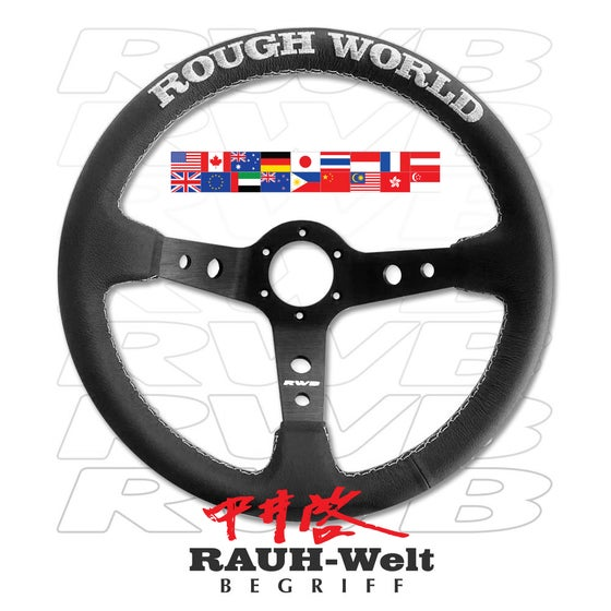 Image of RWB WORLDWIDE STEERING WHEEL