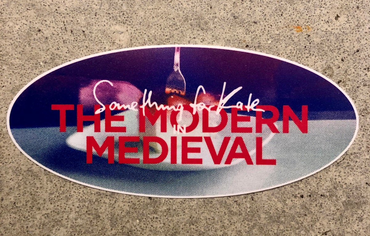 Image of Something for Kate 'Modern Medieval' stickers