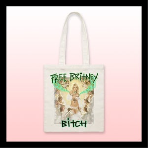 Image of tote bag FREE BRITNEY