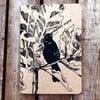 Singing blackbird notebook