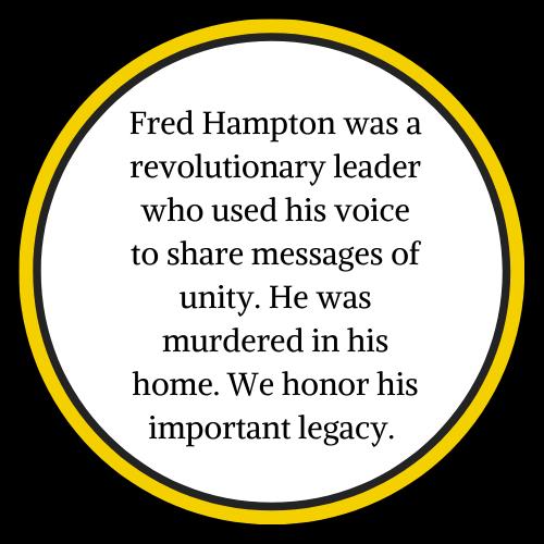 Image of Fred Hampton Hoodie
