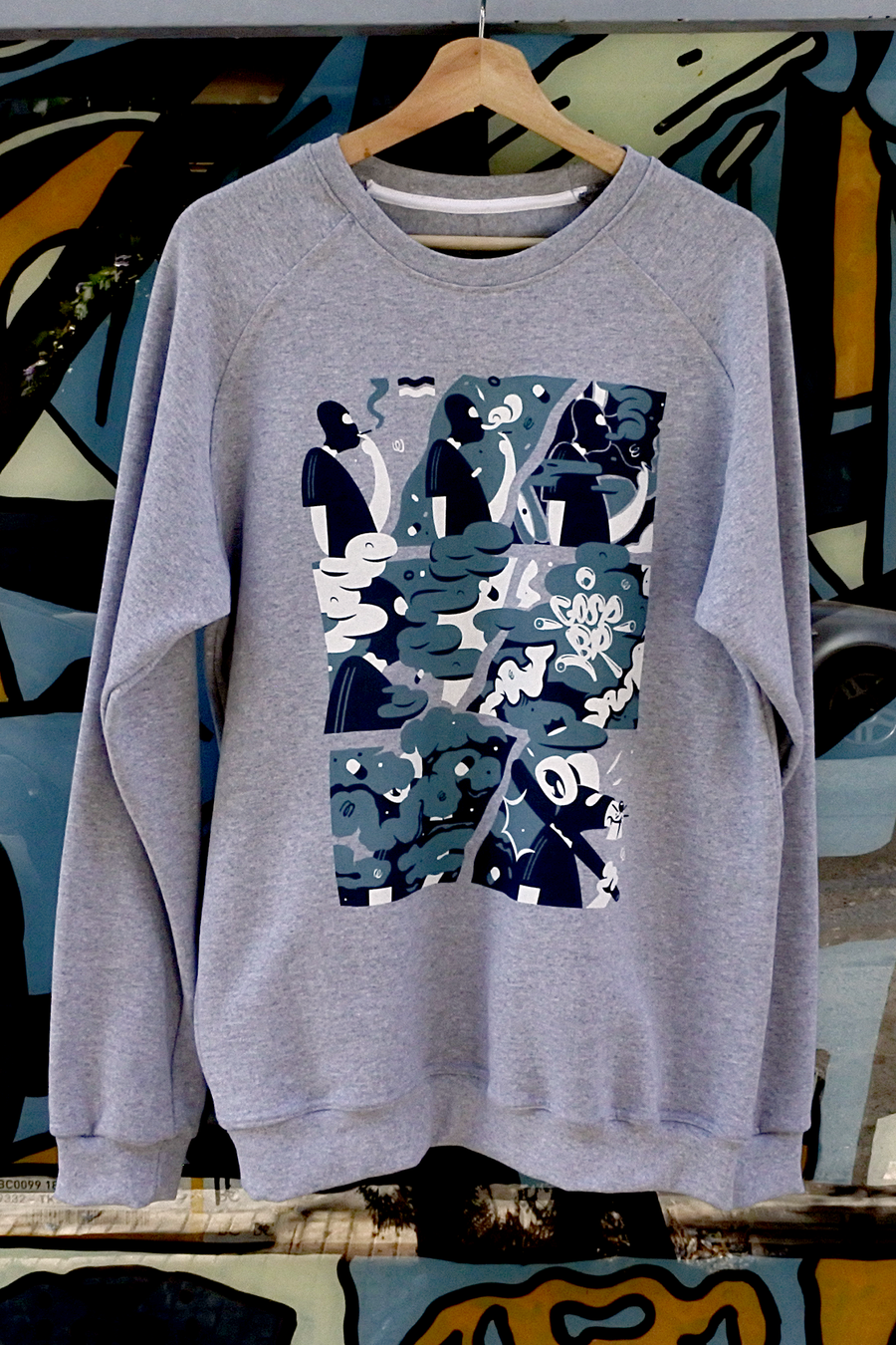 Image of Puff Puff Pass Crewneck