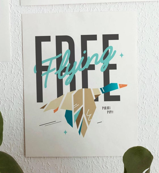 Image of Flying FREE