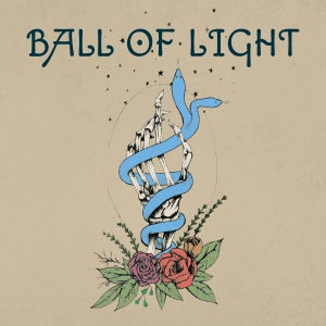 "Image of Ball of Light - Under Red Skies / Burden 7"" (colour vinyl)"