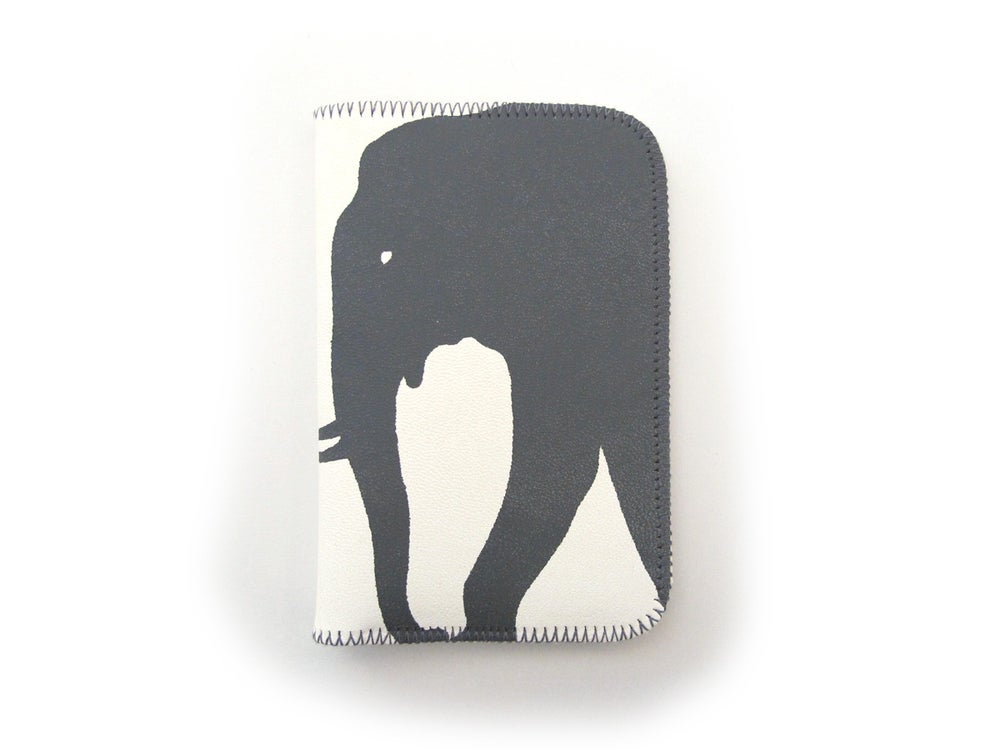 Image of White Elephants Card Holder