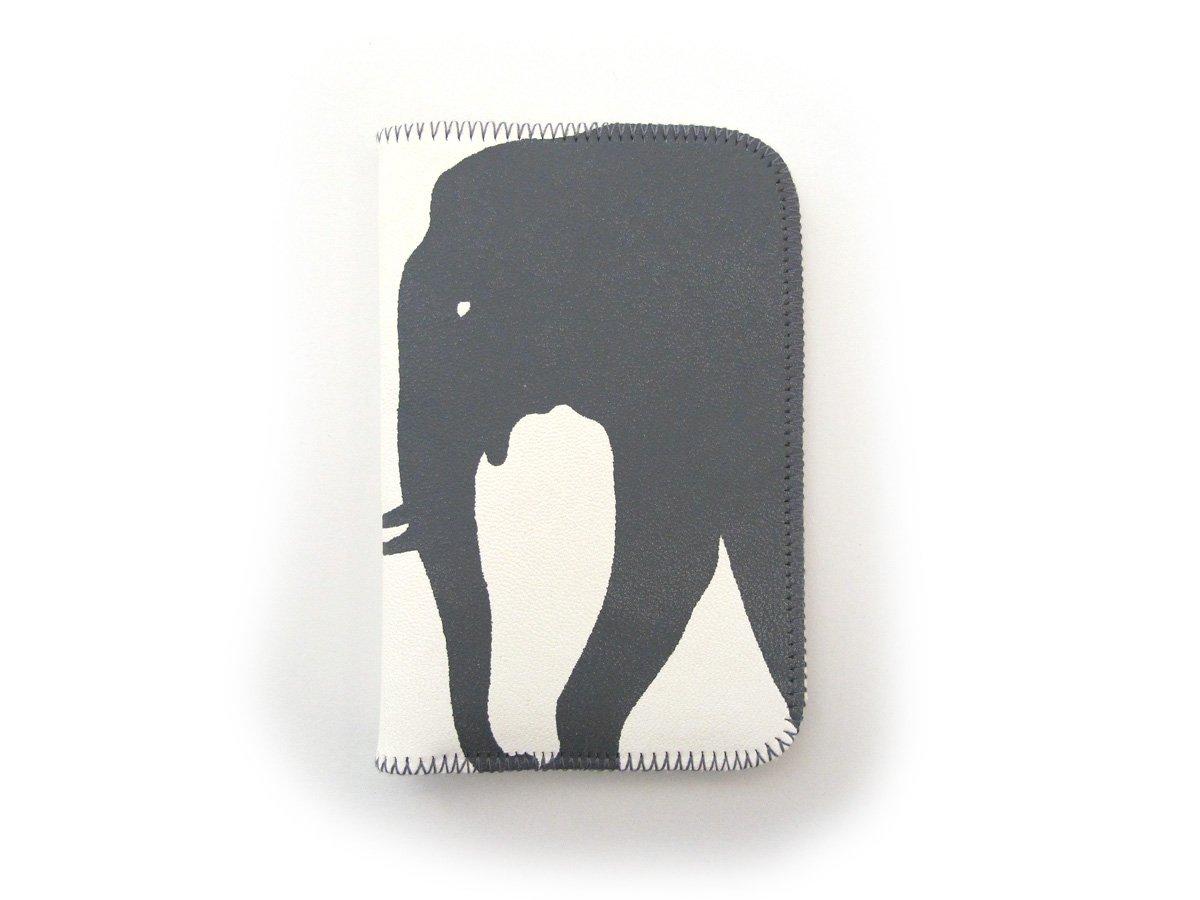 Image of Black Elephants Card Holder