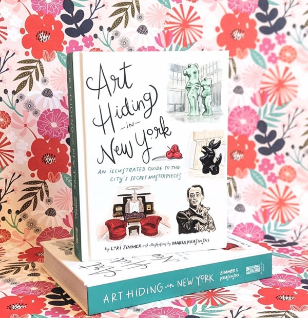 Image of **SIGNED** Art Hiding in New York: An Illustrated Guide to the City's Secret Masterpieces