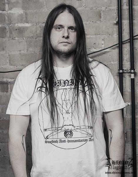 "Image of Shining ""Antihuman White 2020"" T-Shirt"
