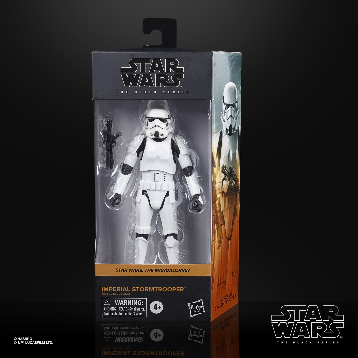 Image of Star Wars The Black Series Imperial Stormtrooper (Mandalorian) 6-Inch Action Figure