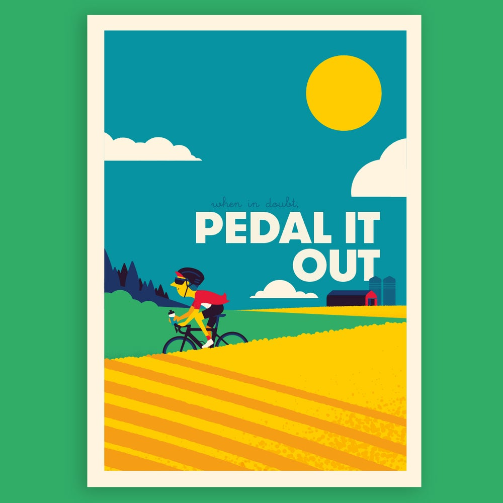 Image of Pedal it out