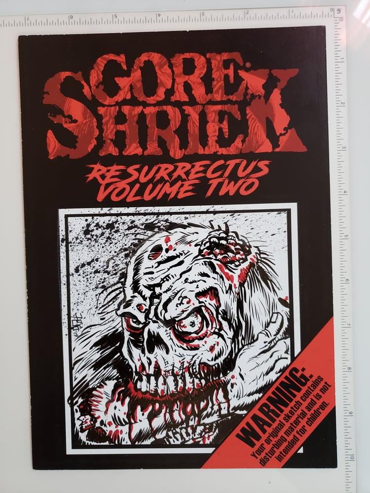 Image of Gore Shriek Original Art card 2