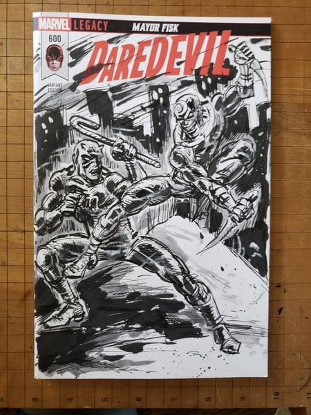 Image of Daredevil sketch cover