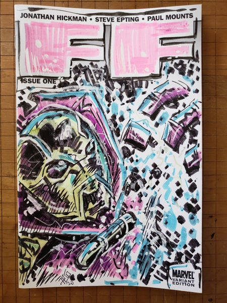 Image of FF Annihilus sketch cover
