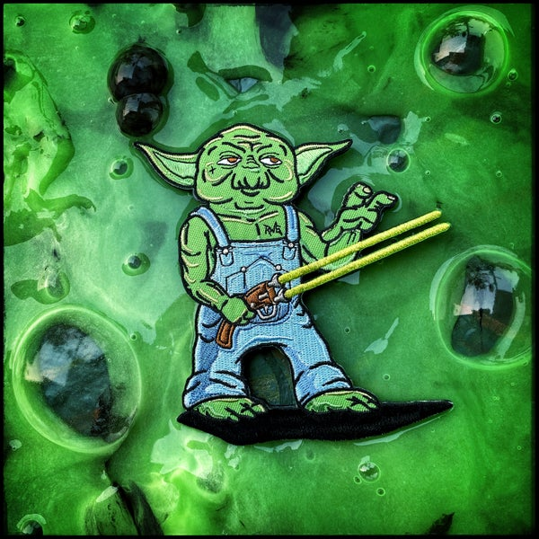 Image of Double Barrel Yoda patch
