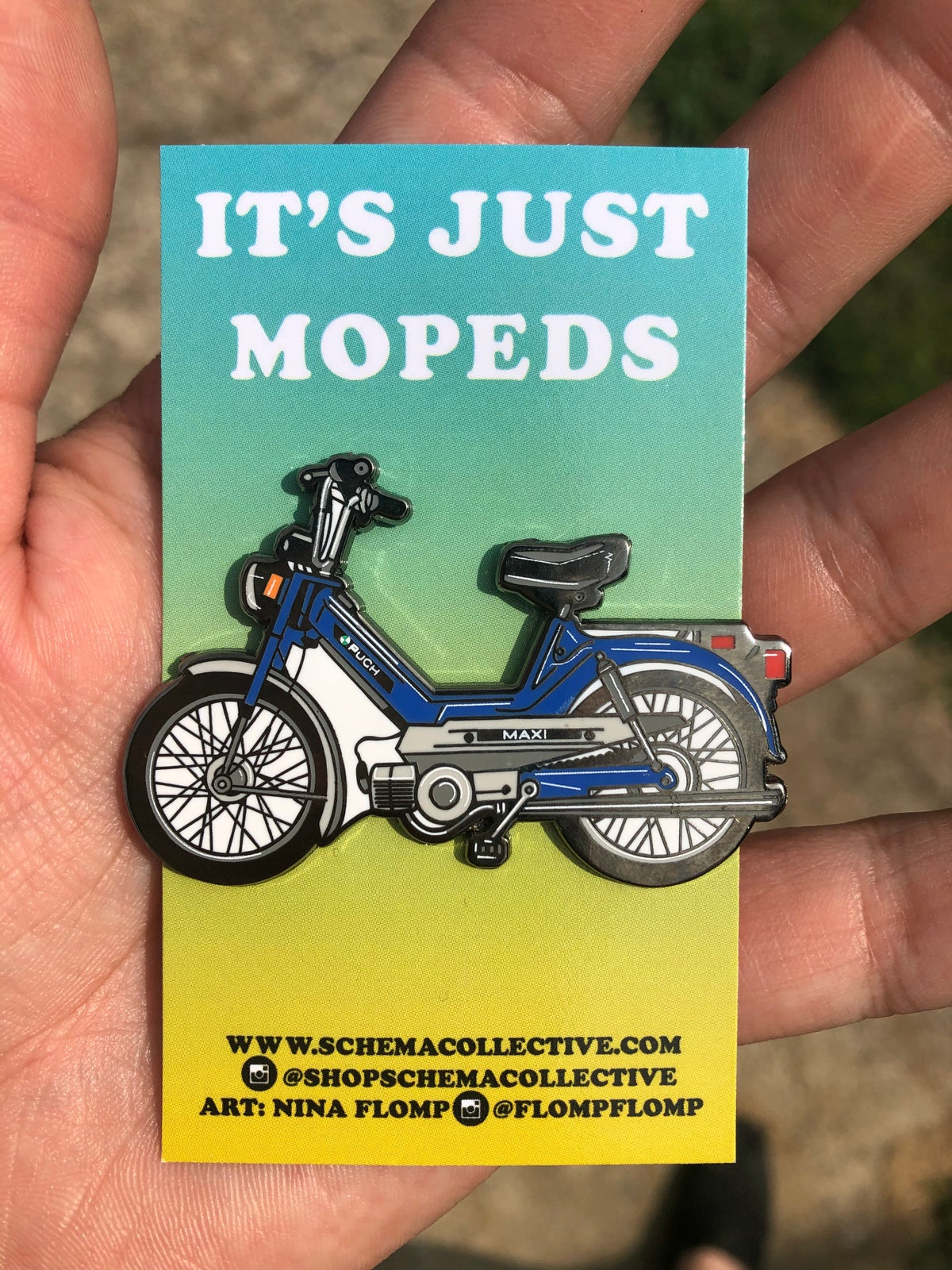 Image of PUCH MAXI ENAMEL PIN