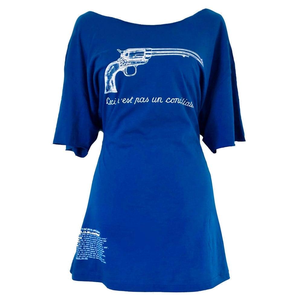 Image of Ceci N'est Pas Un Conciliateur T-Dress
