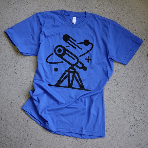 Image of Cosmos Tee / Blue