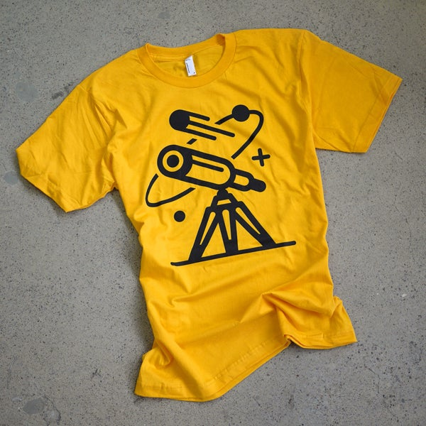 Image of Cosmos Tee / Solar Gold