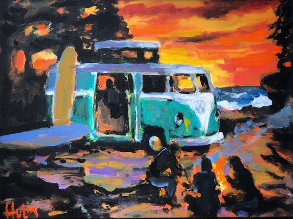 Image of Sunset camper