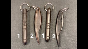 Image of Kamagong hardwood key chain tool