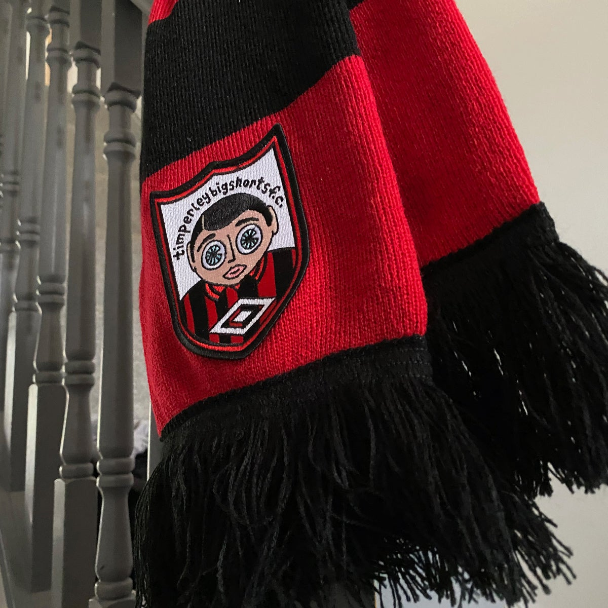 Image of Timperley Bigshorts Bar Scarf: BACK IN STOCK FOR XMAS!