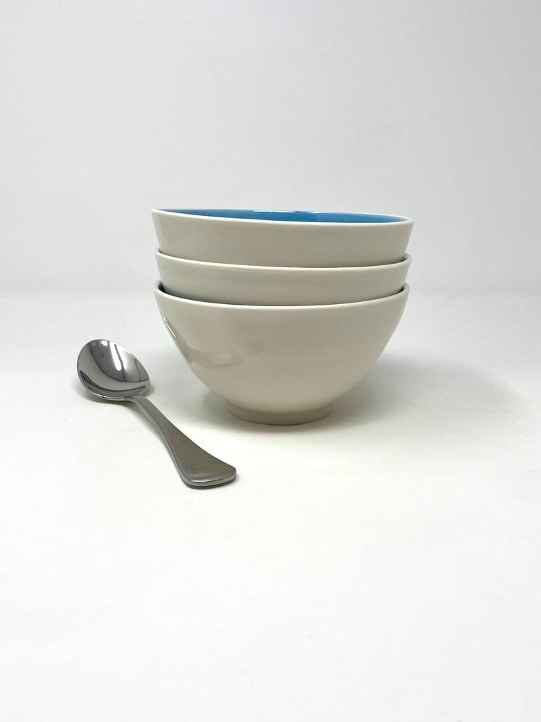 Image of Porcelain Turquoise Bowl