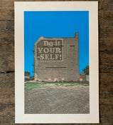 Image of Do It Yourself art print, 2009