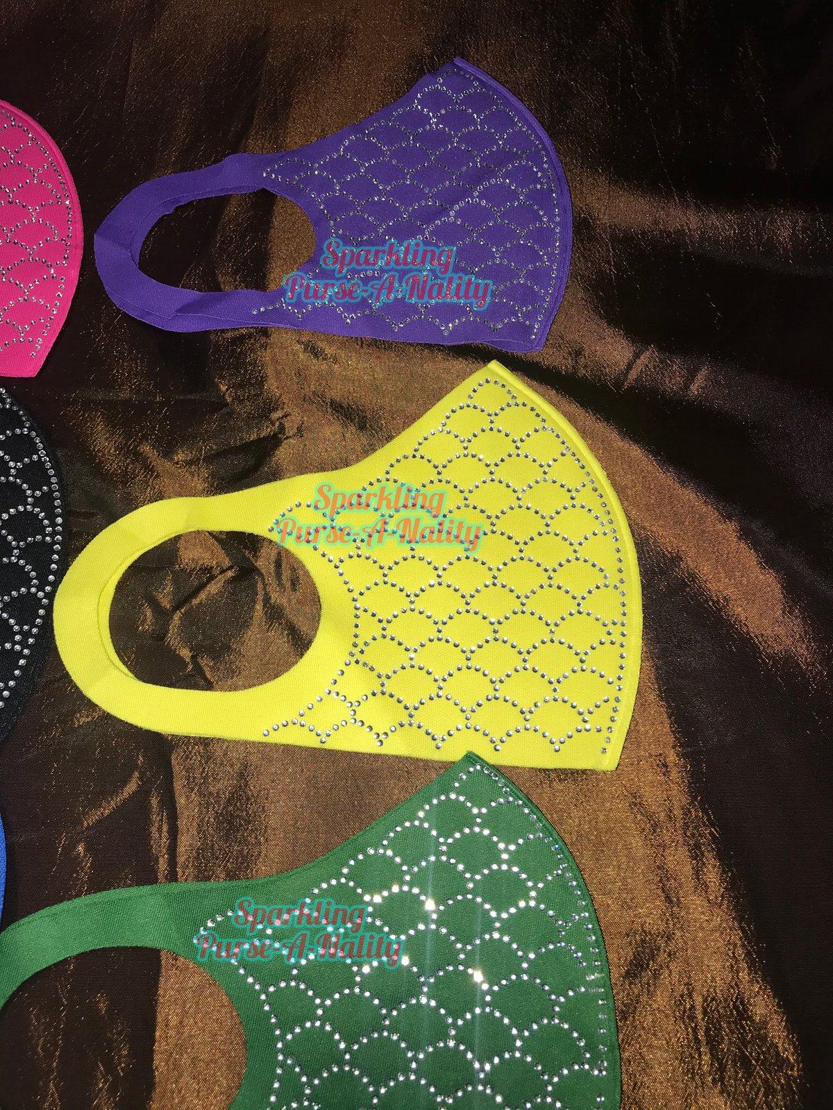 """Image of """"Sparkling"""" Blingathon Mask"""