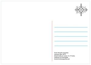 Postcard: Anastasia Blue