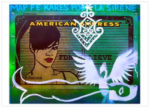 Postcard: La sirène