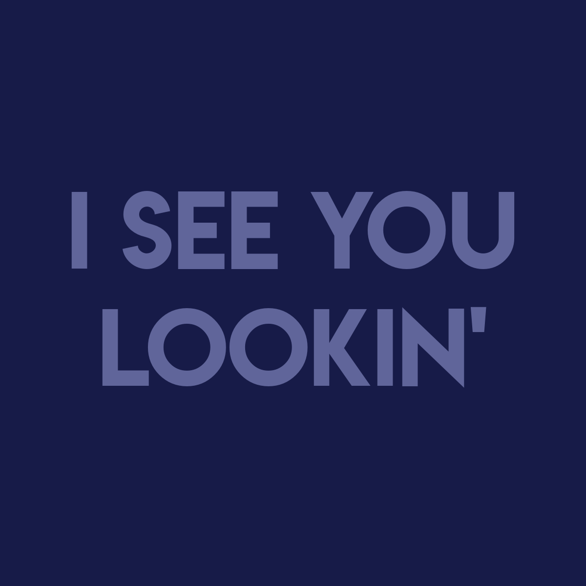 Image of I See You Lookin' | Word Search Book