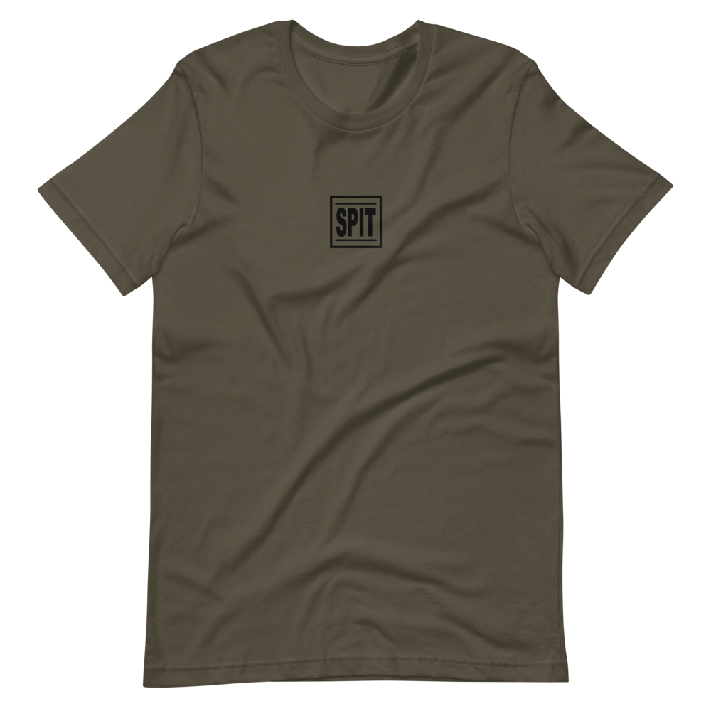 Image of Spit Box Logo Tee (Army)