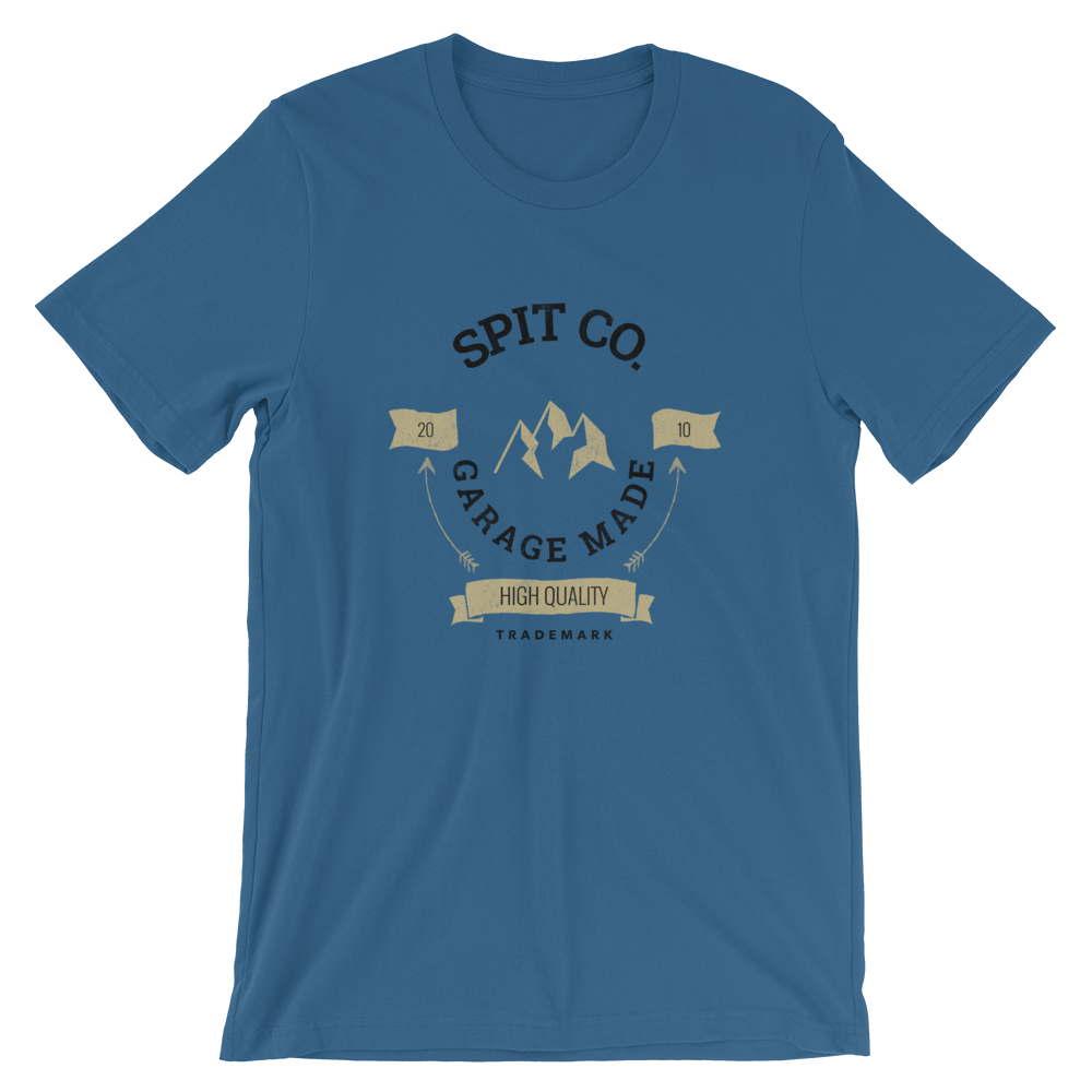 Image of Spit MT T-Shirt (Blue Steel)