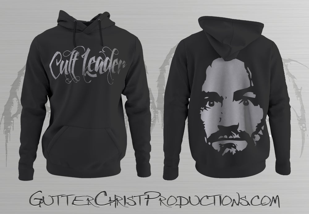 Image of CULT LEADER CHARLIE HOODIES (PREORDER SHIPS OCT 9TH)