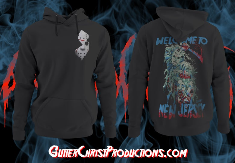 Image of WELCOME TO NJ HOODIES (IN STOCK)